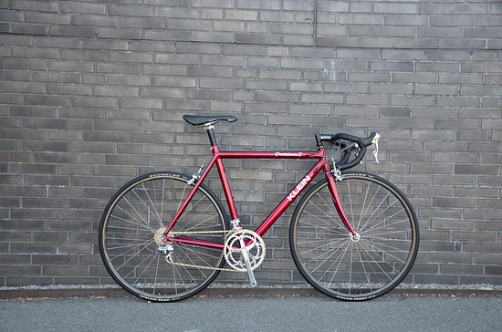 Klein Quantum II candy red 53cm