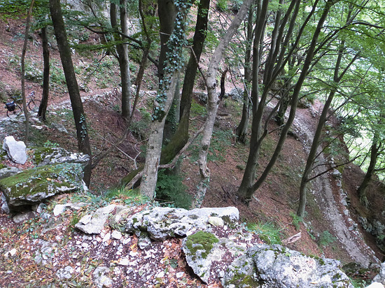 Straße zum Bocca Giumella