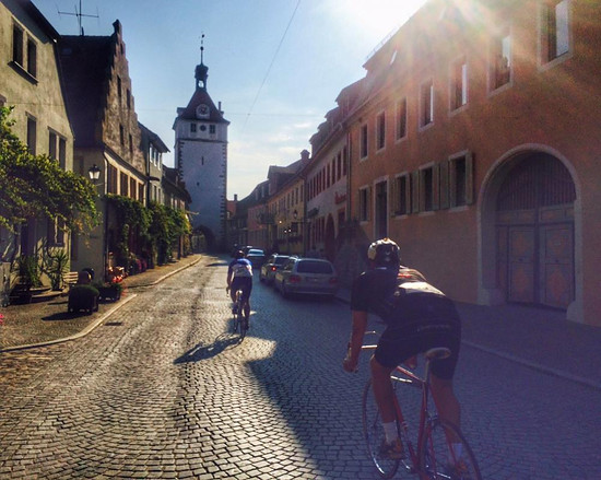 Bocksbeuteltour der TG Velo Kitzingen 2016