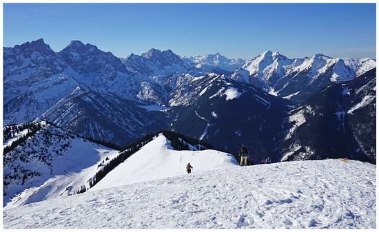 Schneeschuhtour Schönalmjoch vom 29.01.2017