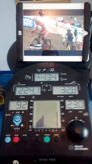 Weicheitraining während der Cyclocross WM