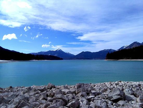 Heute am Walchensee