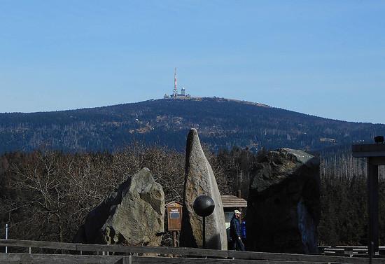 Harz-1-Brockenblick vom Torfhaus