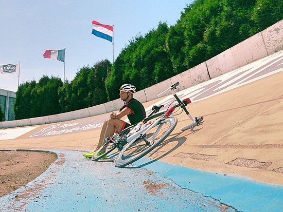 Vélodrome in Roubaix.