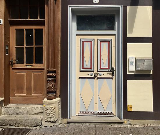 Tür in der Zöllnerstraße Celle