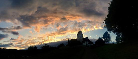 Abendhimmel in Magden 05.08.2017