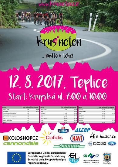Einladung KRUSNOTON 12. August 2017 in Teplice (CZ)