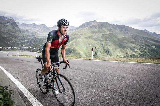 Ötztaler Radmarathon - kurz vorm Timmelsjoch