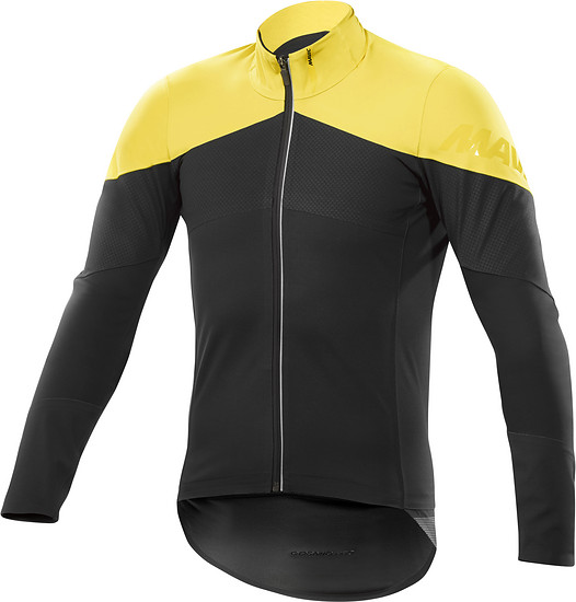 Mavic Cosmic Pro SO H2O Jacket Gelb: