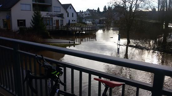 Donau-Hochwasser in Pfohren