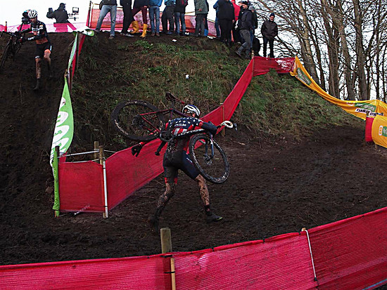 Stephen Hyde beim Weltcup in Zeven 2017