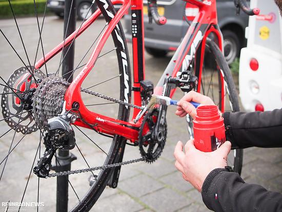 MMR Bike des spanischen Nationalteams