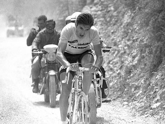 Eddy Merckx beim Giro 1968