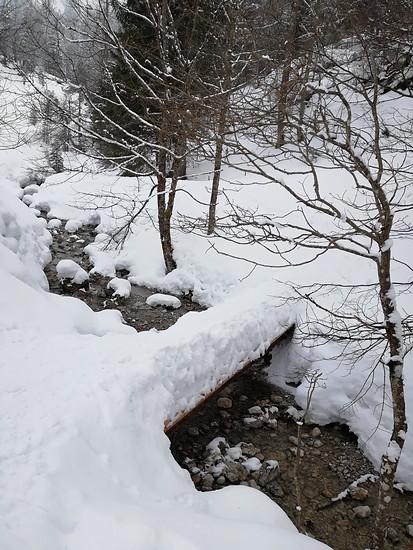 Bis der Schnee weg ist, dauert es noch etwas...