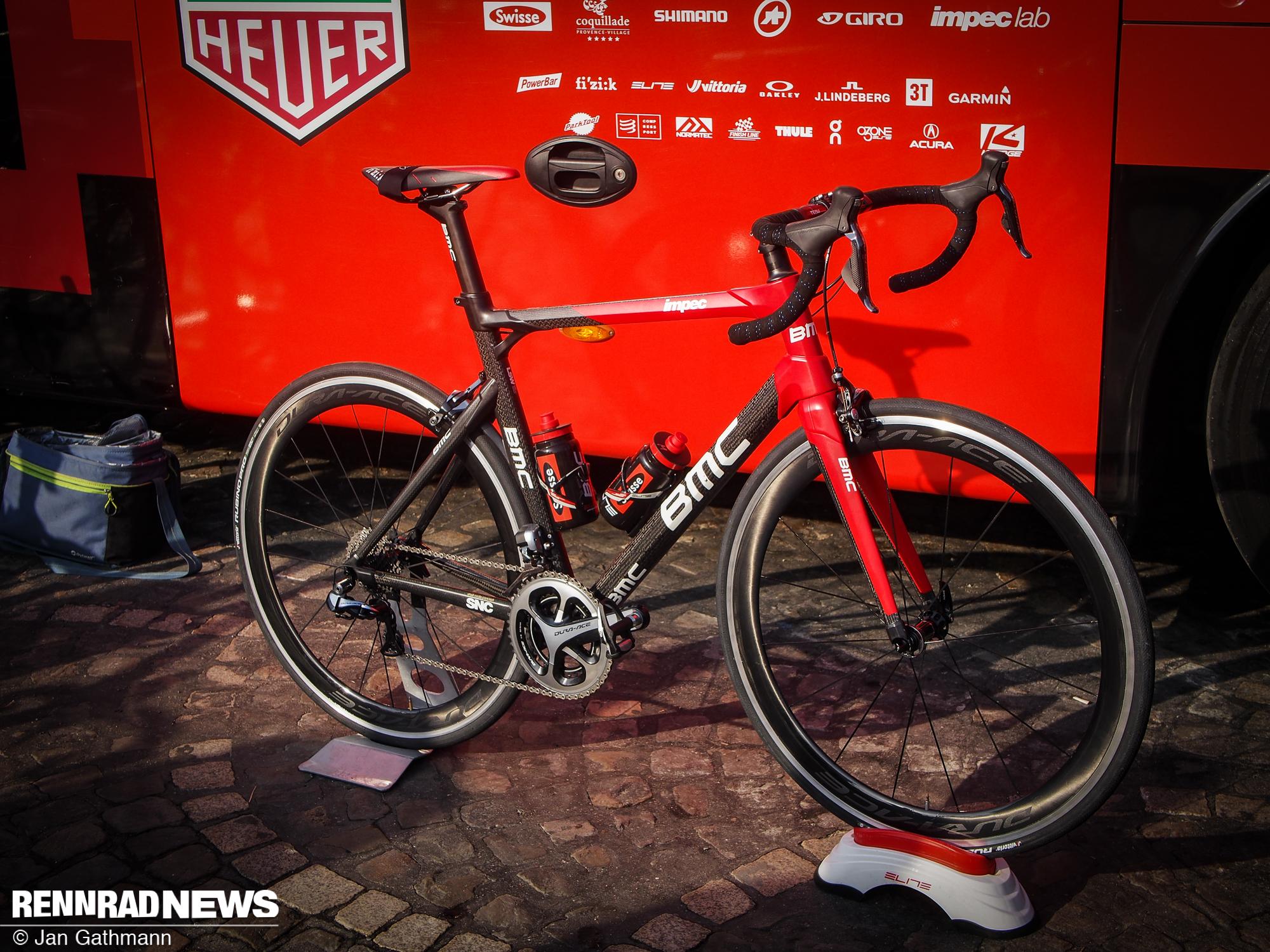 brand new ff3ae 2e40a Foto: Impec Team-Rahmen bei BMC - Rennrad-News.de