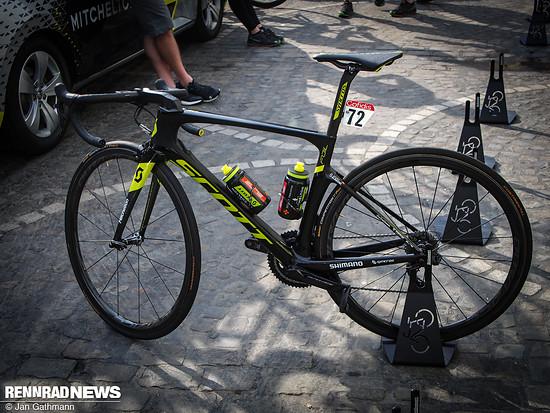 Scott Foil Teambike von Michael Albasini