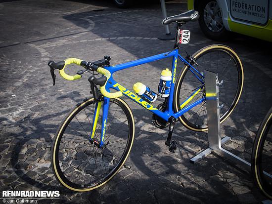 Ridley Helium SLX Teambike von WB Aquaprotect Veranclassic