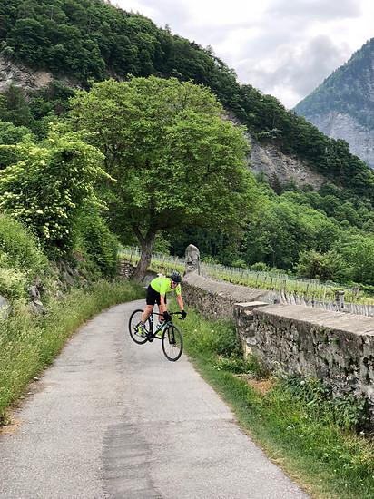 Radfahren bedeutet für mich Freiheitsgefühl und Zeit zum Nachdenken.
