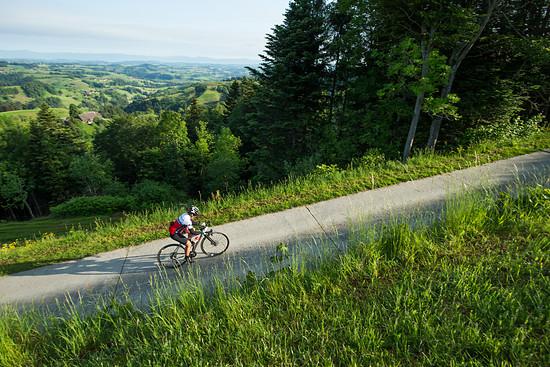 Tausend Hügel in der Schweiz