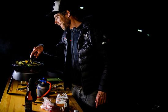 Ten Dam ist Fan der improvisierten Küche