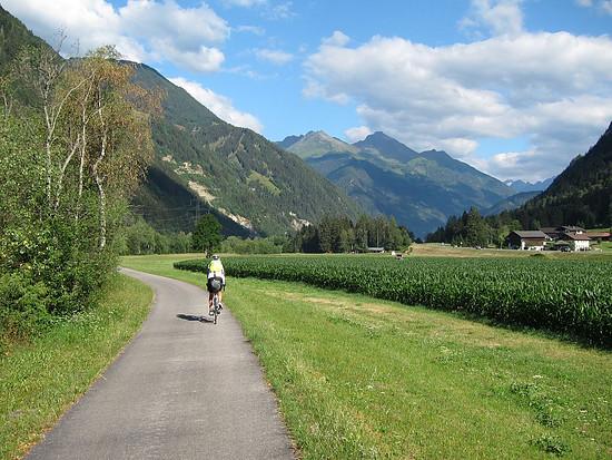 Radweg bei Lienz