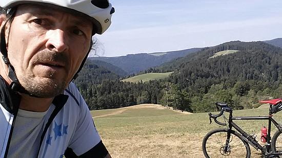 Mit dem Crosser im Schwarzwald