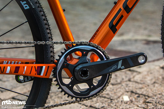 Sram Force 1x Kurbel mit 42 T