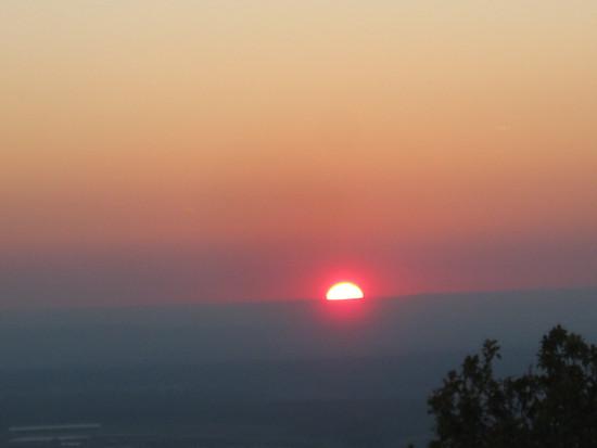 2018-10-10-SonnenuntergangLoewenburg