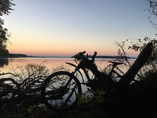 Feierabendrunde am Schweriner See :)