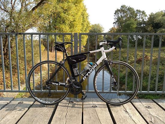 Einsteiger-Rennrad BTWIN Triban 520 Größe L