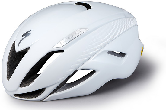 S-Works Evade II Helm mit ANGi in White