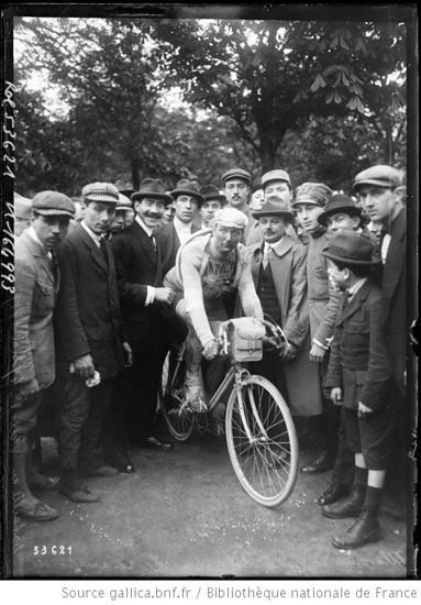 Der Franzose Jean Alavoine wurde Dritter in der Gesamtwertung