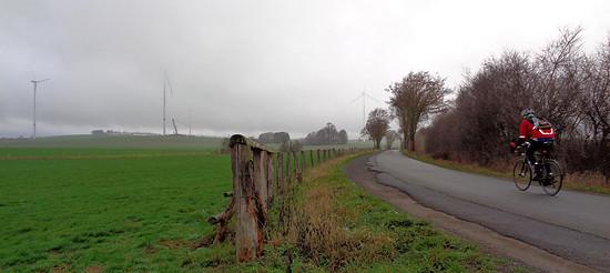 Einsame Wege im Eichsfeld