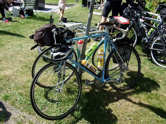 Mein Rad bei der Fietselfstedentocht 2018 war ein Mücke Randonneur aus Krefeld Baujahr Ende der 80er Jahre.