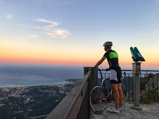 Abendliche Runde zum Col de la Madone