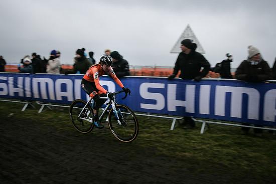 Annemarie Worst kam auf Platz 5