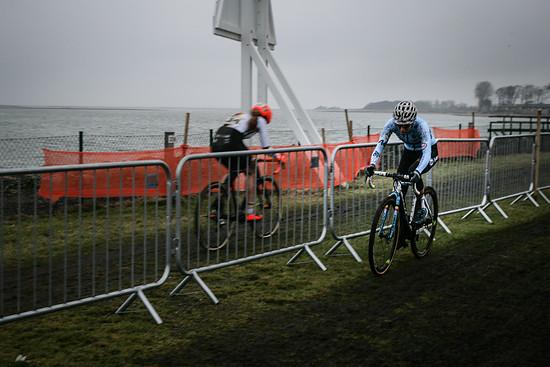 Die Siegerin Sanne Cant mit fast 3 Minuten Vorsprung auf Elisabeth Brandau