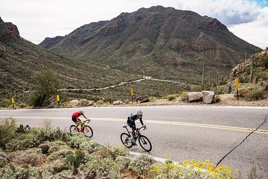 … genauso perfekt wie Rennradfahrer bedienen