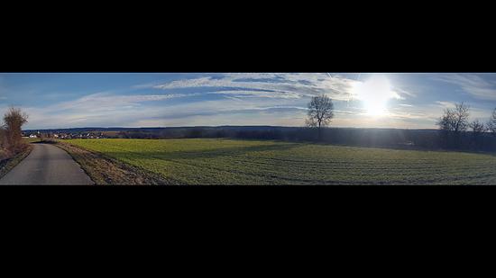 Morgens 8 Uhr in Niederbayern :)