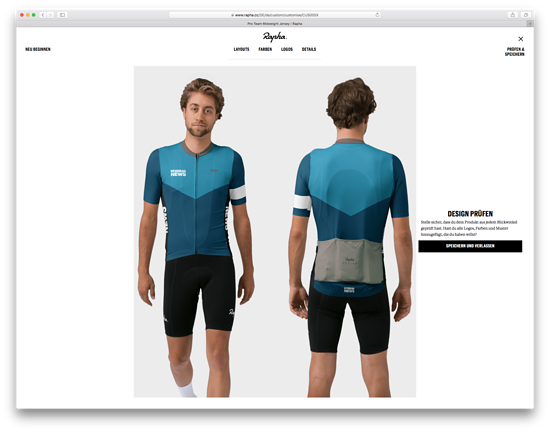 Rapha Custom Jersey im Rennrad-News Design