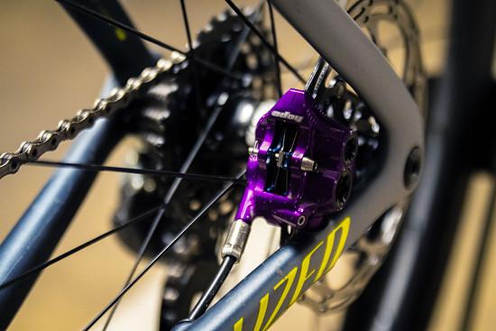 Hope RX4 Bremszangen in Purple