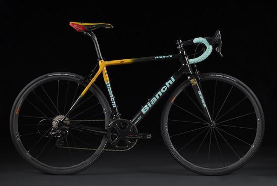 Specialissima Pantani – Rahmenset im Mercatone Uno Design