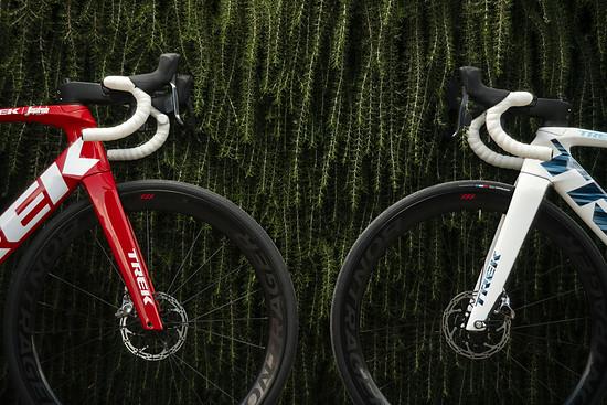 Am aktuellen Trek Madone passen auch 28 mm Reifen