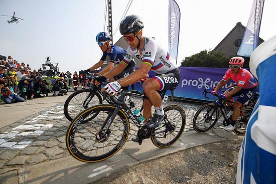 """""""Sagan fuhr ziemlich smart heute und sparte sich die Energie"""", lobte Enrico Poitschke von Bora-Hansgrohe nach dem Rennen"""