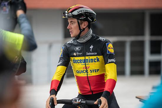 Yves Lampaert testet Future Shock für Quick-Step