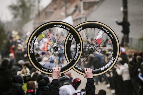 Defekte spielten wie immer bei Paris-Roubaix eine Rolle