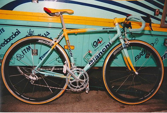 "©JAN 1999 (2) Giro del Trentino-Neuer Name ""Tour of the Alps"""