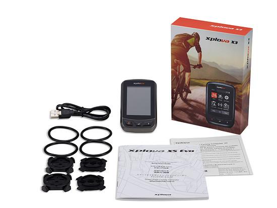 Das Xplova X3 Paket für 125 € (UVP)