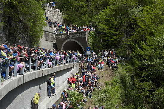 Giro 2018 Passo San Boldo