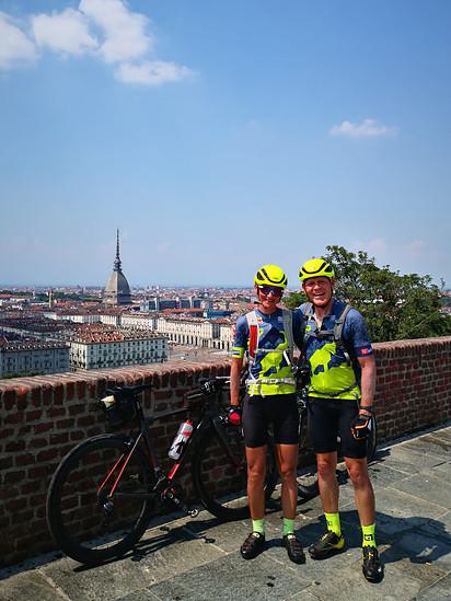 München - Turin nonstop, Ankunft nach 600 Km